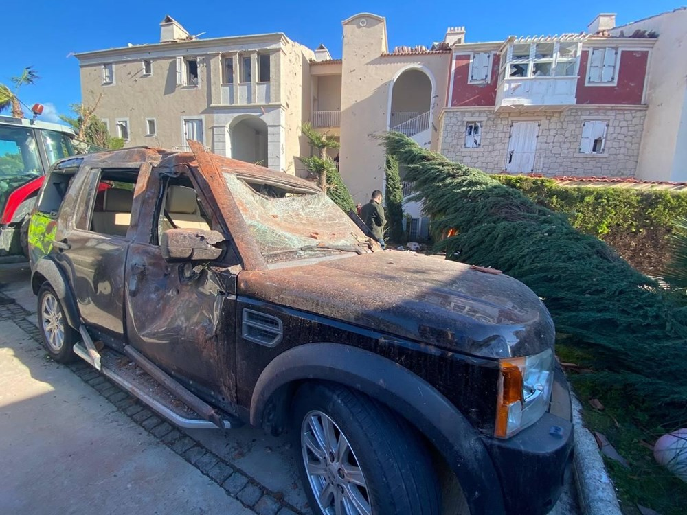 Hortumun vurduğu İzmir'den son kareler - 14