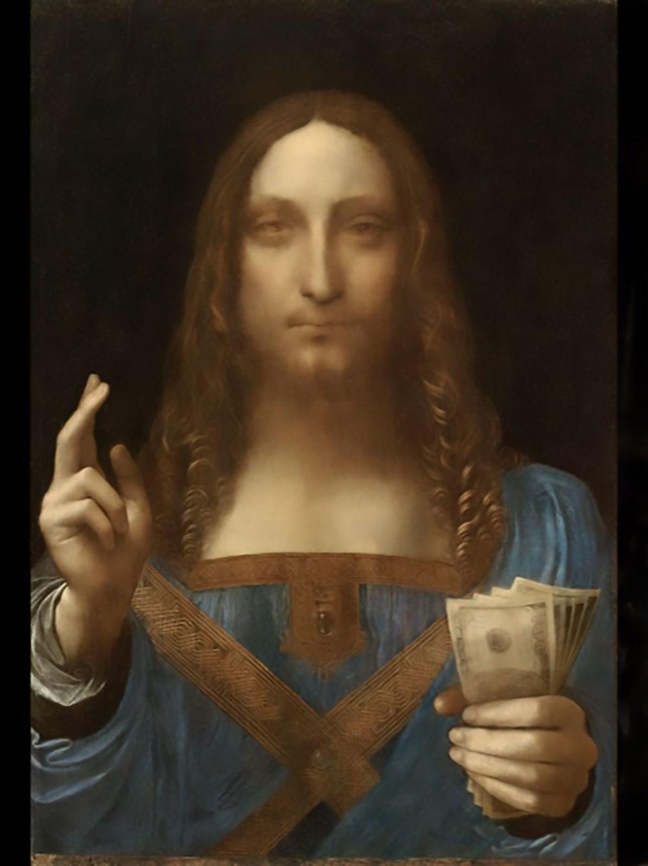 Dünyanın en pahalı tablosu olan Leonardo da Vinci'nin Salvator Mundi'si NFT olarak satışta - 2