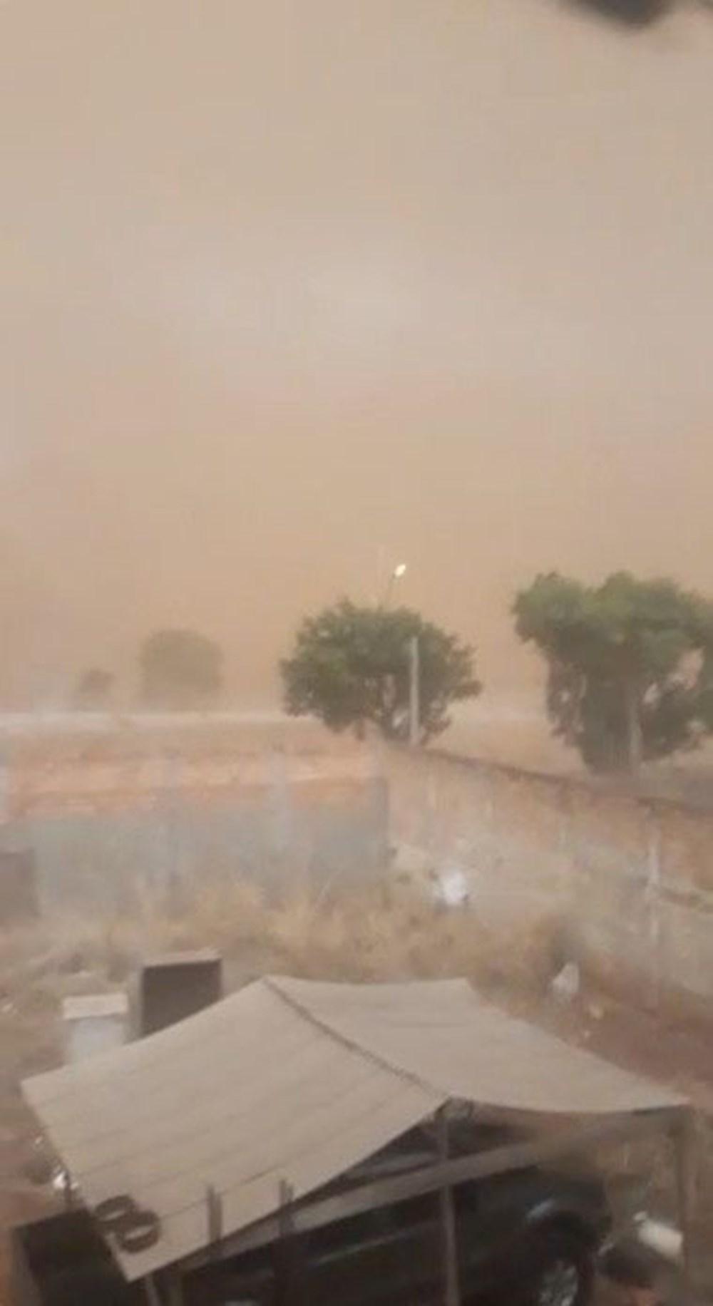 Brezilya'da kıyamet filmini aratmayan kum fırtınası: Binalar ortadan kayboldu - 6