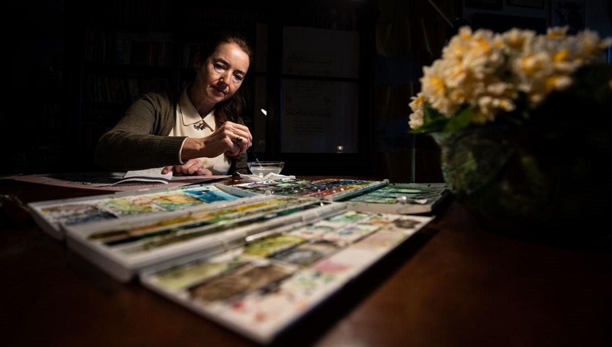 Minyatür sanatçısı Gaye Özen: Bizler kainatın nakkaşının emanetçileriyiz