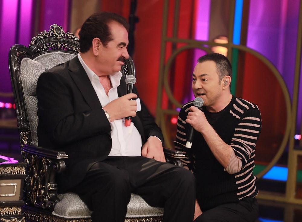 İbo Show yeni bölüm fotoğrafları: İbrahim Tatlıses'in kızı Elif Ada ilk kez stüdyoda - 2