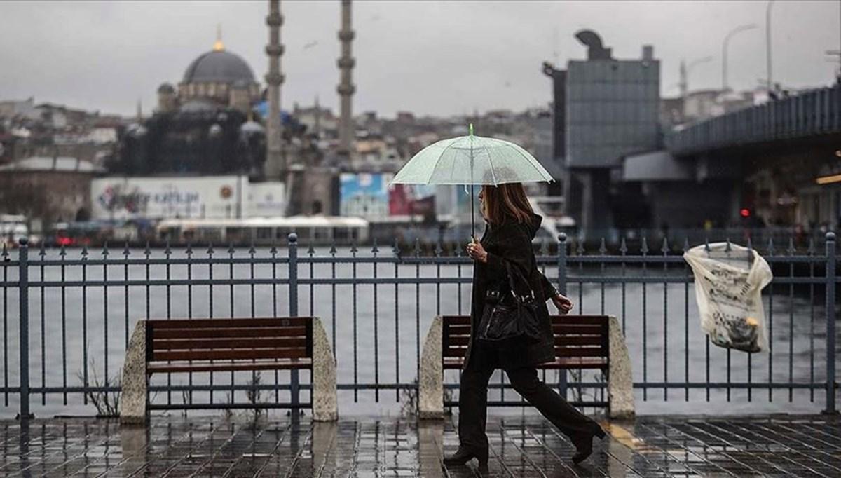 Hava durumu: Meteoroloji'den sağanak yağış uyarısı (Bugün hava nasıl olacak?)