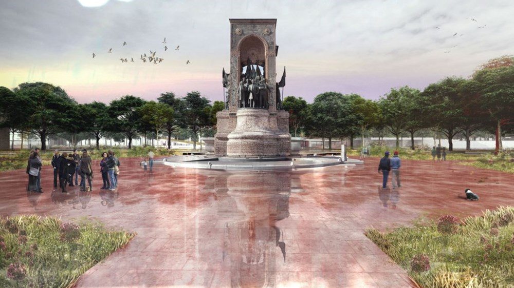 Taksim Meydanı Tasarım Yarışması sonuçlandı (Taksim Meydanı böyle olacak) - 26