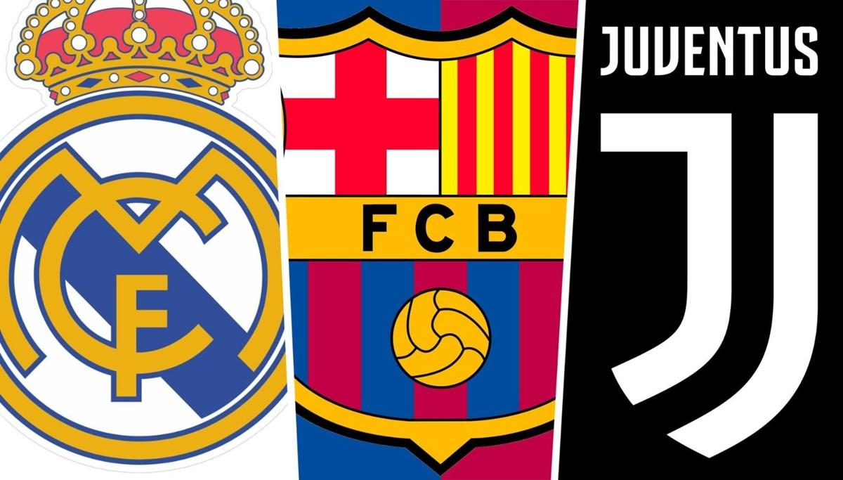 UEFA, Real Madrid, Barcelona ve Juventus aleyhindeki davaları durdurdu