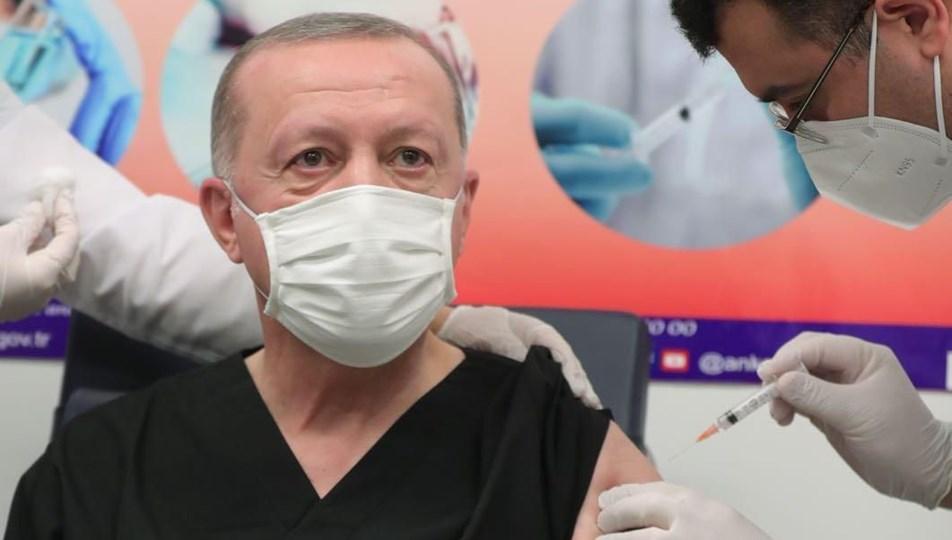 Cumhurbaşkanı Erdoğan aşı oldu   NTV