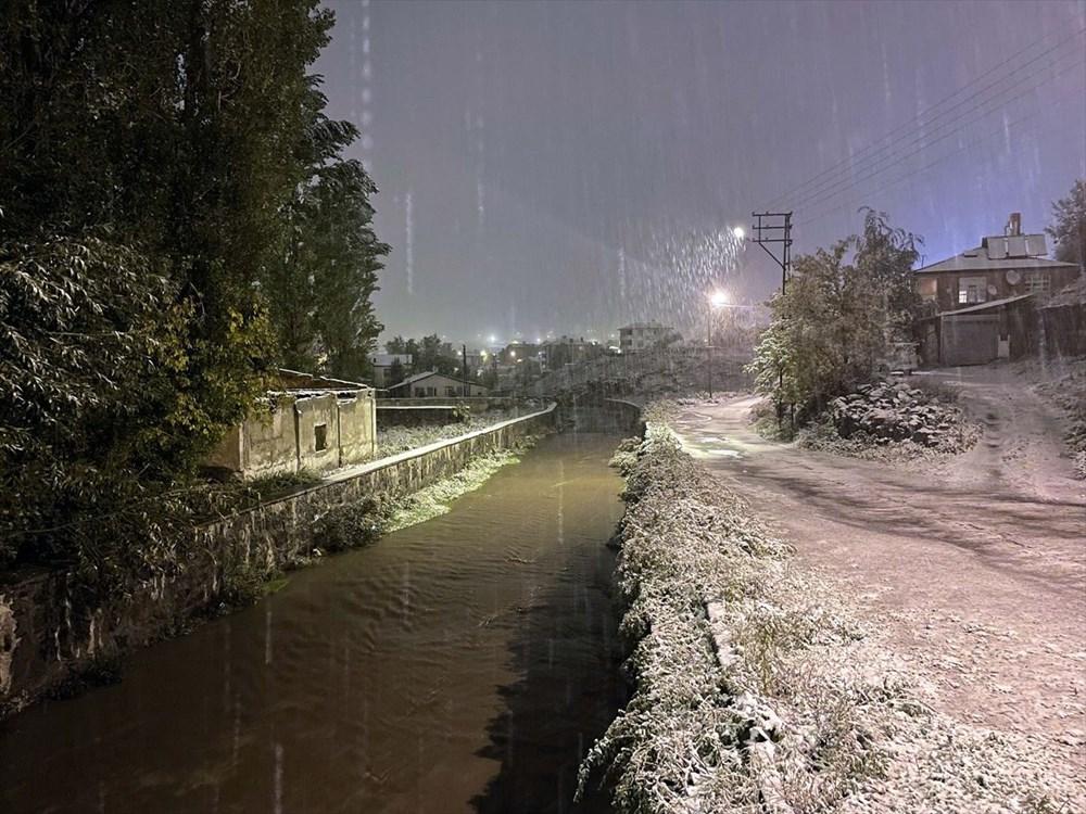 تساقطت الثلوج الأولى لهذا الموسم في أرداهان - 7