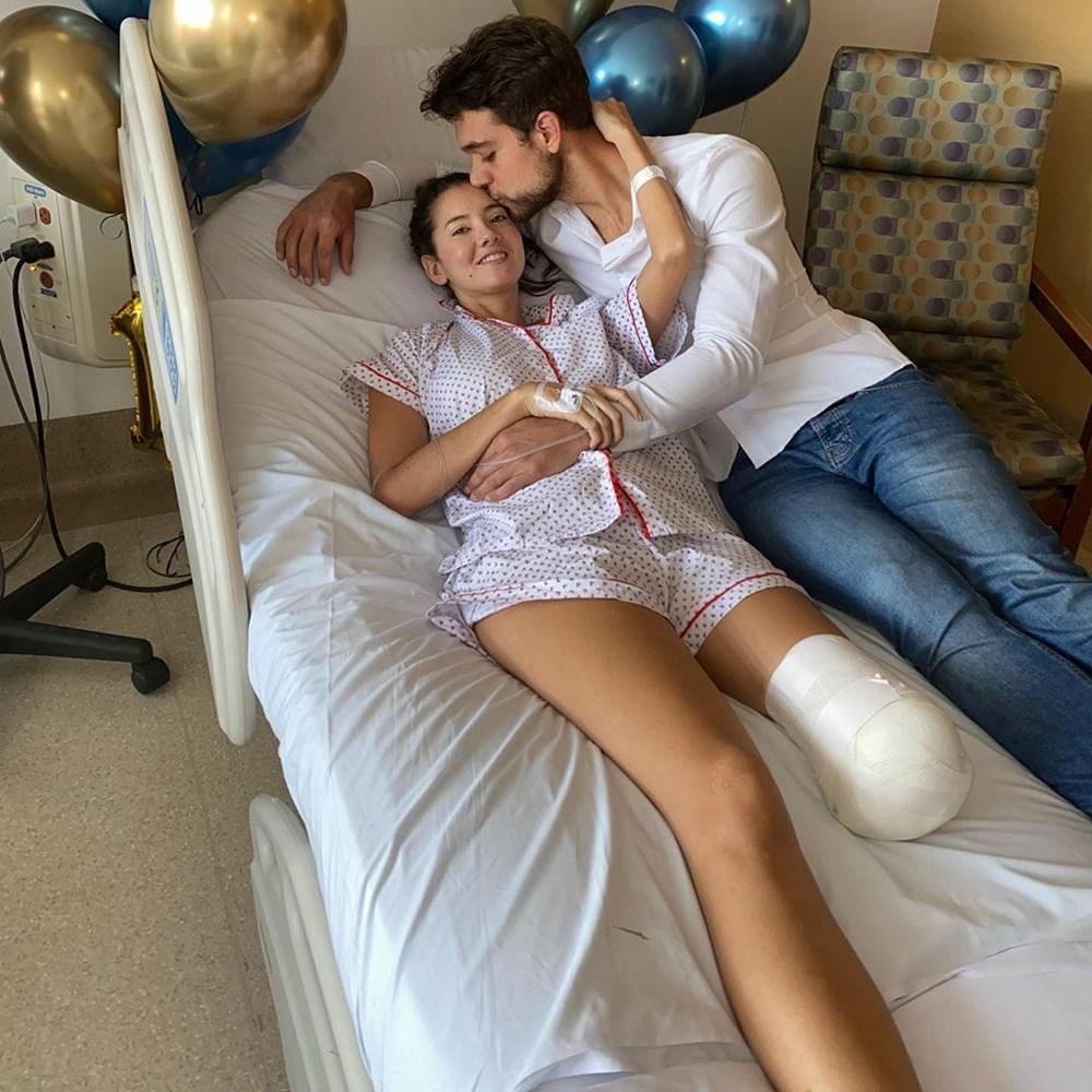 Eski Kolombiya Güzeli  Daniella Alvarez'in bacağı kesildi - 12