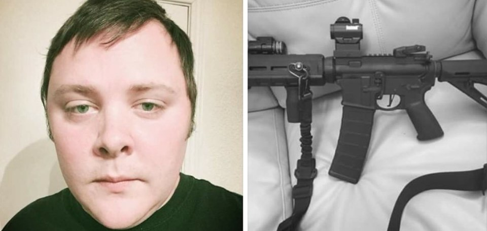 SaldırganDevin Patrick Kelley'in,sosyal medya hesabındaki silahlı fotoğrafı dikkat çekti.