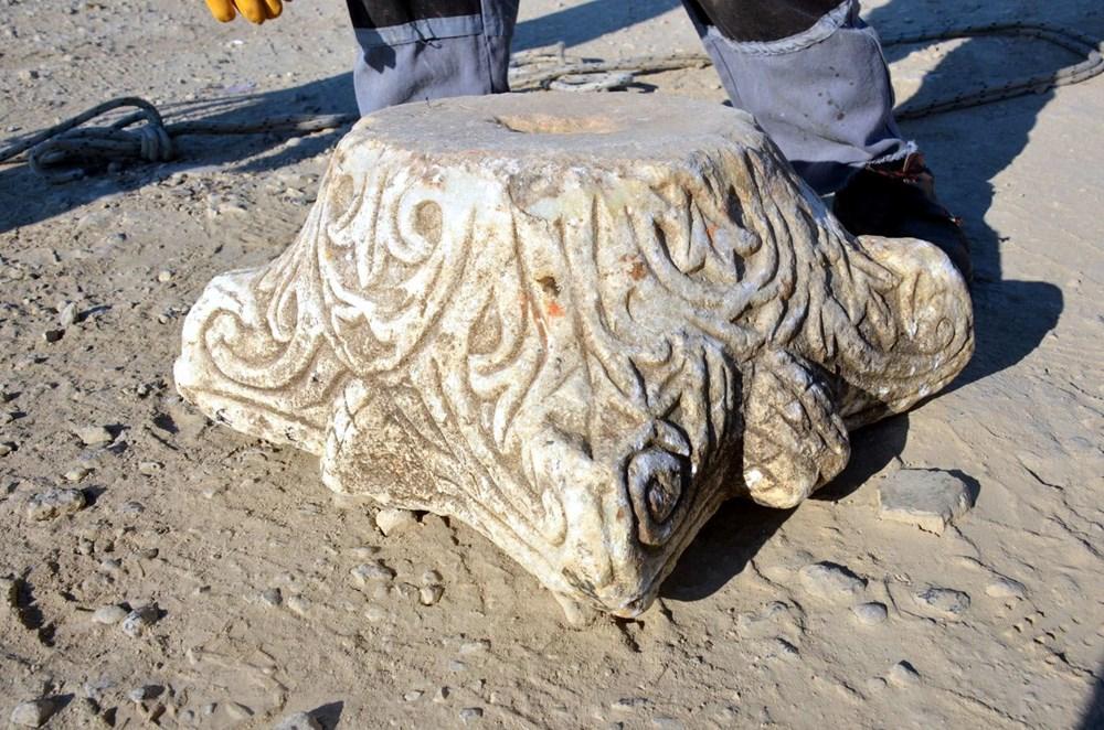 Deniz kenarında tarihi eser bulundu - 4