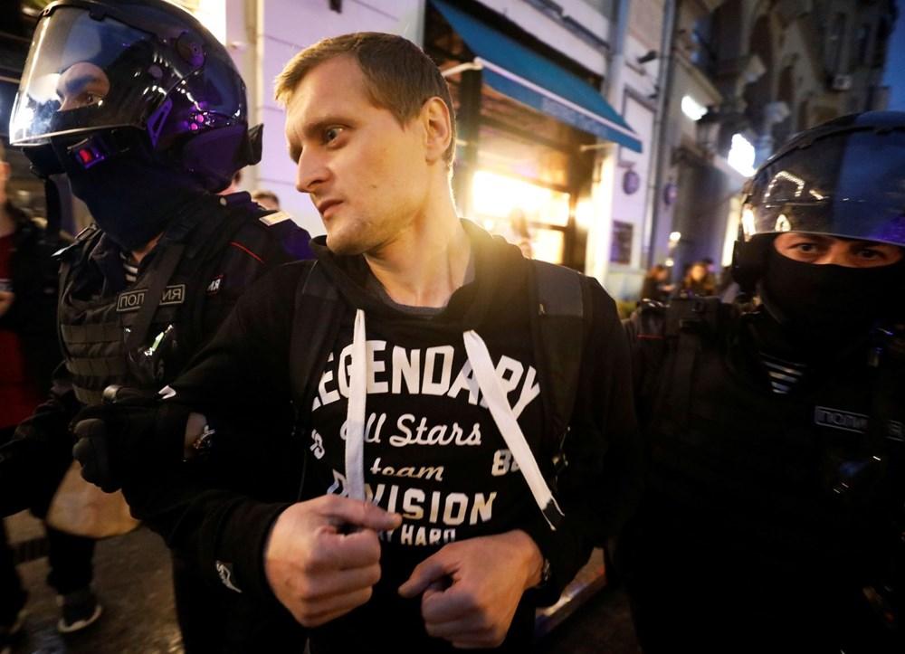 Rusya'da Putin karşıtı protesto: 130 gözaltı - 6