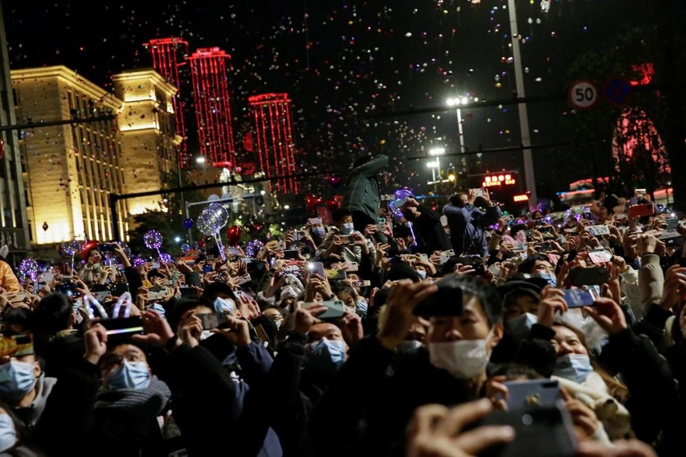 Wuhan'da yeni yıl kutlamaları - 4