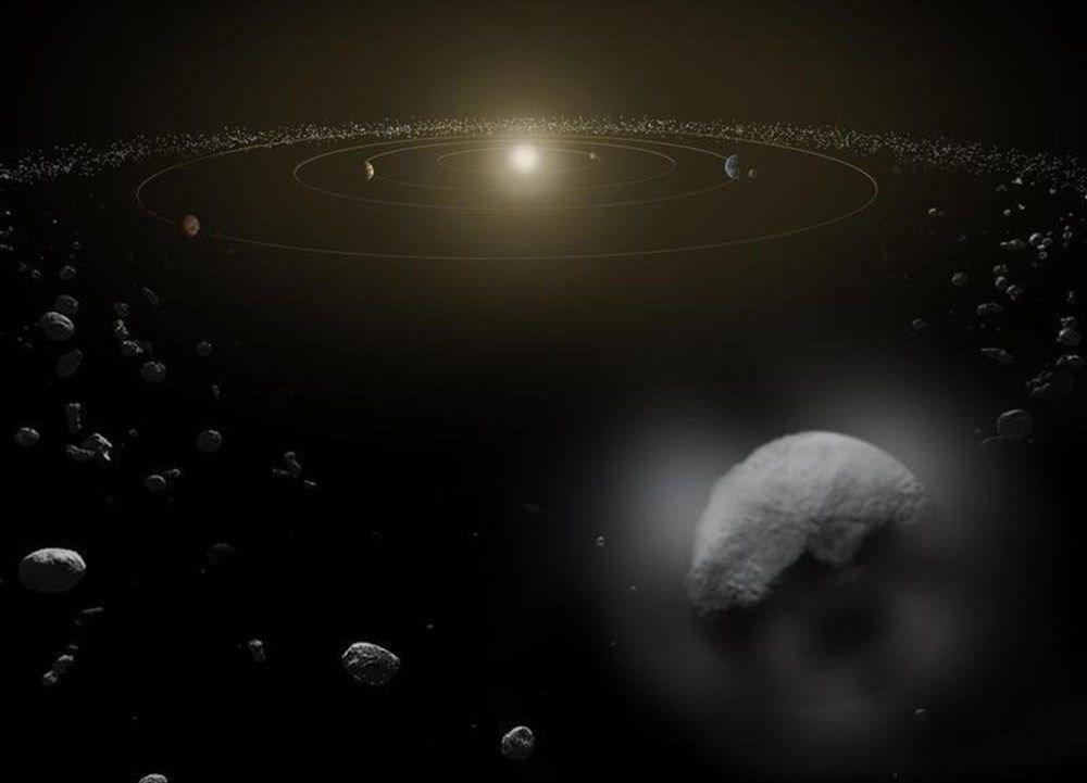 Dünya'ya yaklaşan kuyruklu yıldız astronotlar tarafından görüntülendi - 3