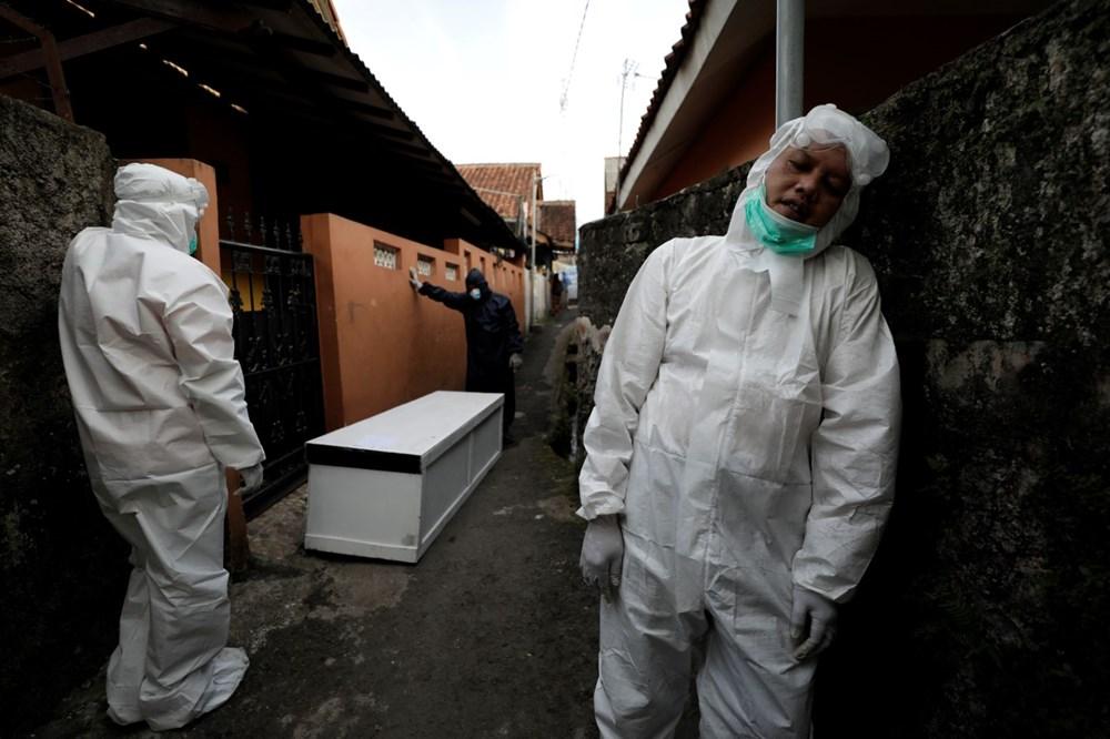 Covid-19 salgınının merkezi Endonezya'ya kaydı: Yeni vakaların sayısı Brezilya ve Hindistan'ı geçti - 10