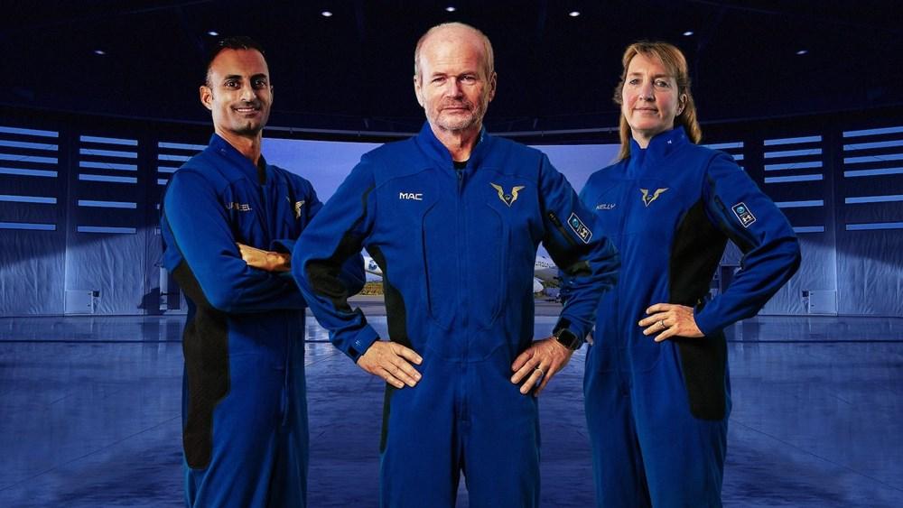 Uzay seyahatlerinde giyilecek kıyafetler görücüye çıktı - 5