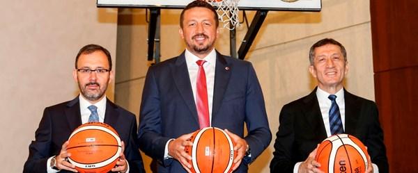 'Haydi sahaya' projesiyle basketbol seferberliği başladı