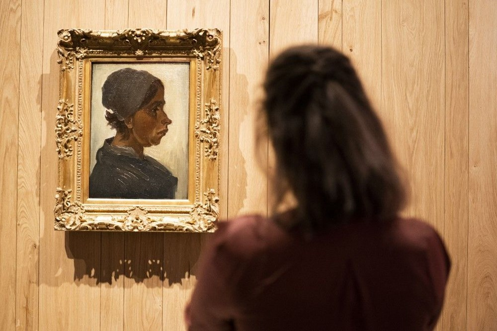 Van Gogh'un Kadın Başı tablosuna 1,6 milyon euro - 3