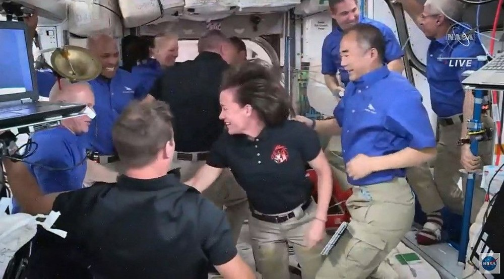 Uzay on yılın en kalabalık günlerini yaşıyor: SpaceX ile birlikte 11 astronot oldu - 4