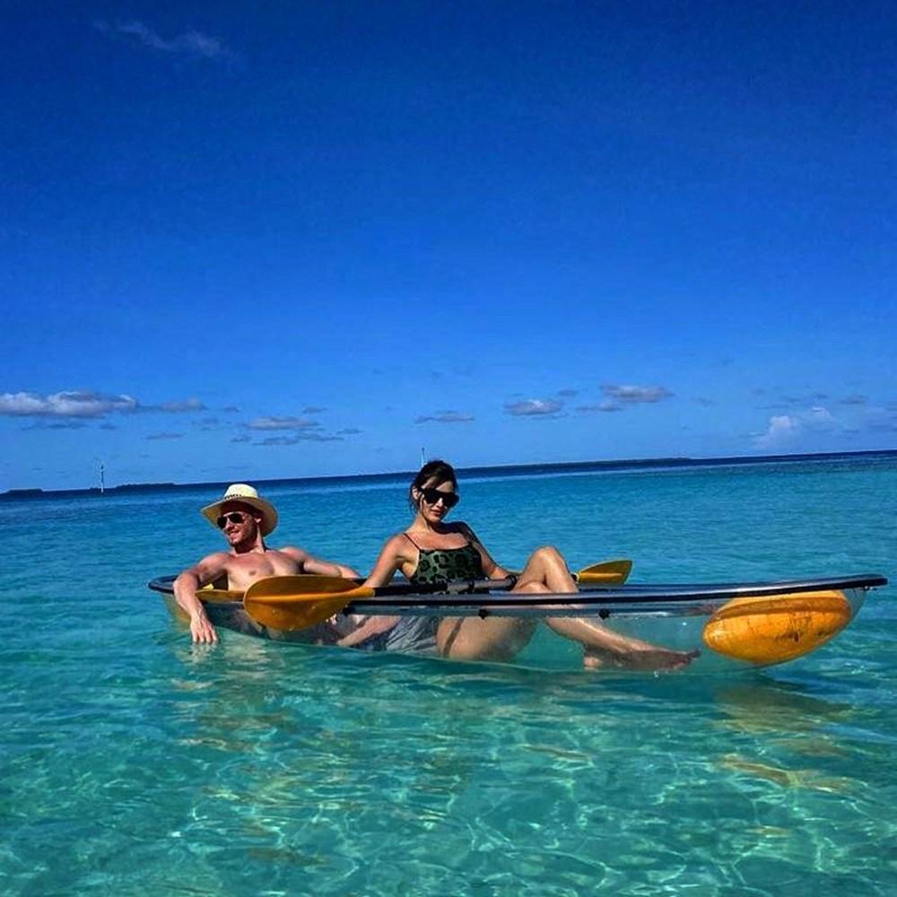 Hande Erçel ve Kerem Bürsin'den Maldivler tatili fotoğrafları - 4