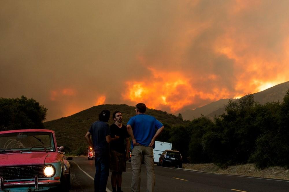 ABD'de 40 bin dönümlük yangın - 7