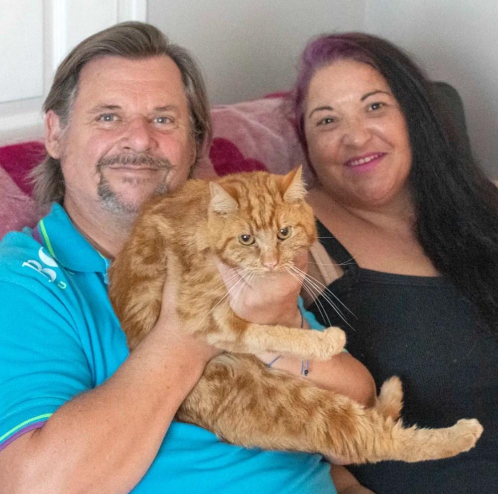 Garfield eski sahiplerini bulmak için 65 kilometre yolculuk yaptı - 2