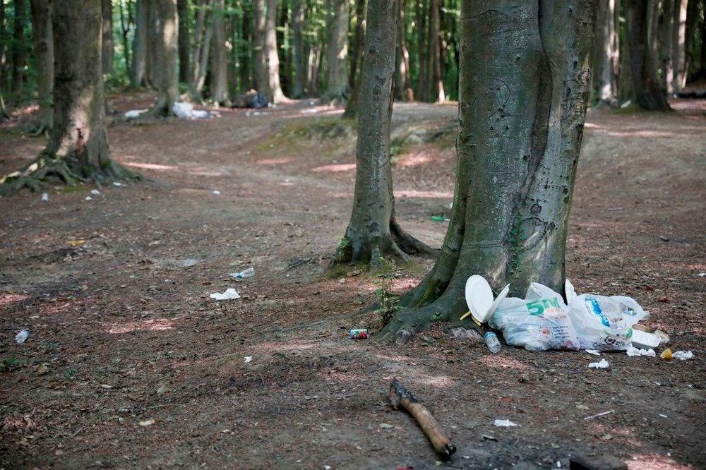 Belgrad Ormanı'nda bitmeyen vandallık - 6