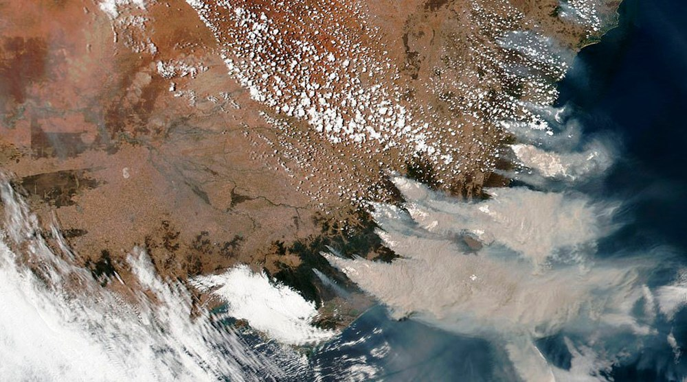 NASA Ankara'dan fotoğraf paylaştı (Astronotların gözünden gezegenimiz) - 45