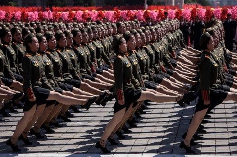 Kuzey Kore tarihi geçit törenine hazırlanıyor - 13