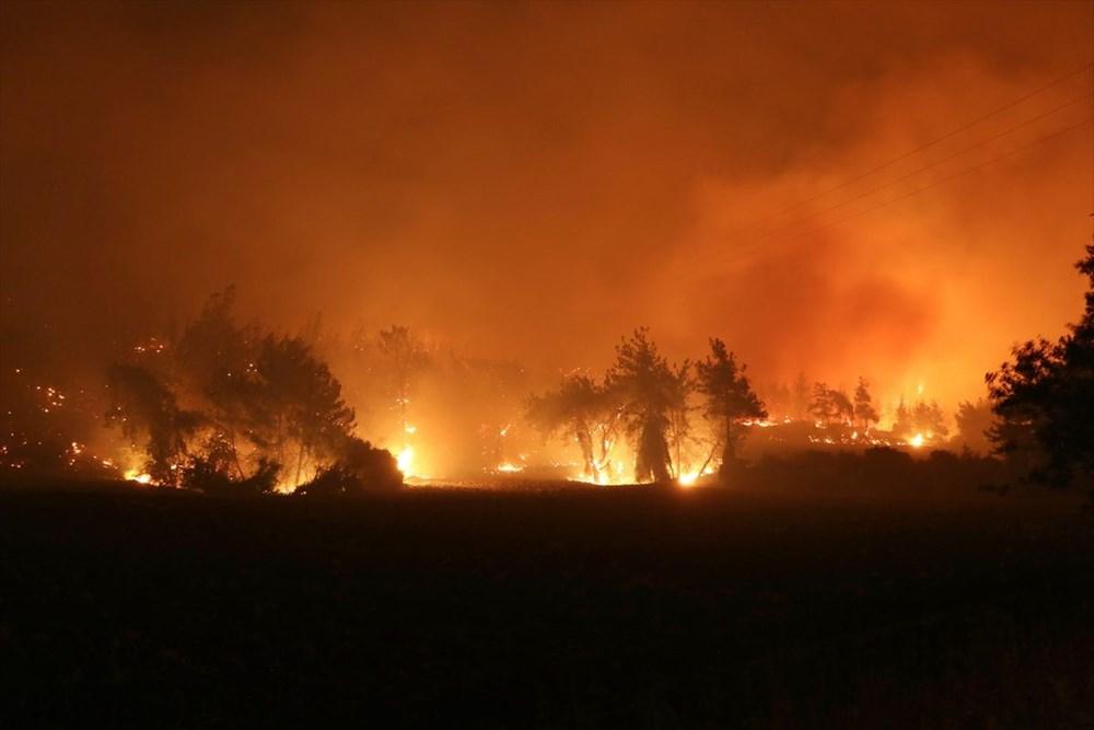 Antalya, Adana, Mersin, Aydın, Muğla, Osmaniye, Kayseri ve Manisa'da orman yangınları - 21