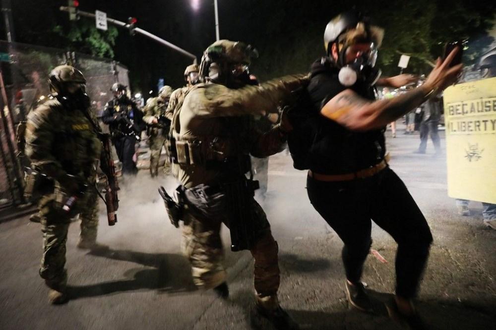 """Trump'tan şiddet eylemlerine karışan protestoculara """"en az 10 yıl hapis"""" tehditi - 20"""
