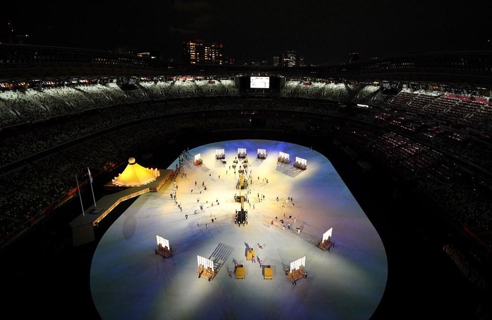 2020 Tokyo Olimpiyatları görkemli açılış töreniyle başladı - 74