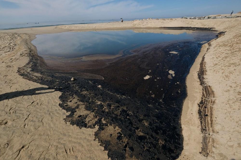 California'da çevre felaketi: Sahil petrolle kaplandı - 5