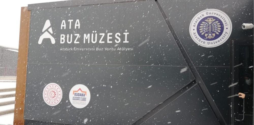 Buz'u sanata dönüştürdüler: Atabuz Müzesi 2021 yılının ilk ayında iki farklı sergiye ev sahipliği yapıyor - 11