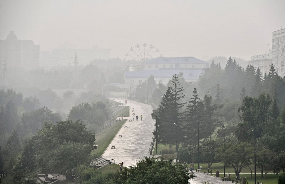 NASA duyurdu: Sibirya'daki yangınların dumanları tarihte ilk kez Kuzey Kutbu'na ulaştı - 12