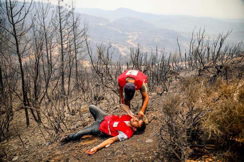 Orman yangınında gönüllülerin asılsız ihbar mesaisi - 3