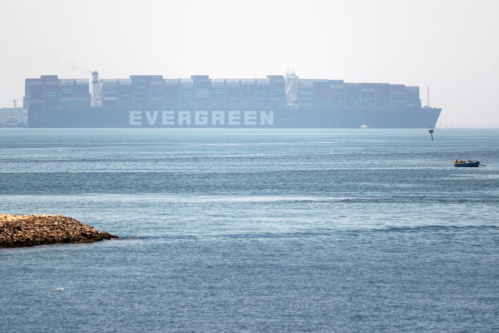 """blocking the Suez Canal """"The Ever Given"""" Headed to the Netherlands - 5"""