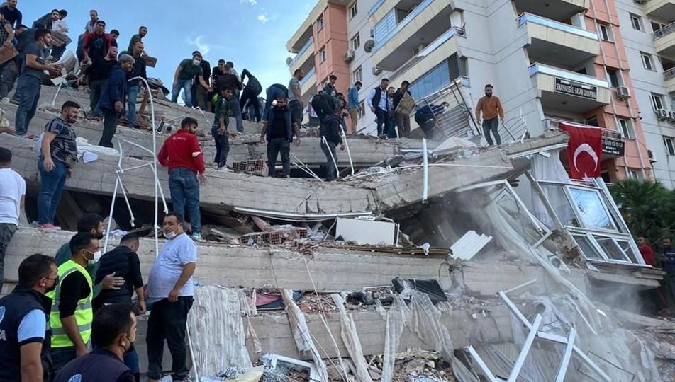 SON DAKİKA: İzmir Seferihisar açıklarında 6,6 büyüklüğünde deprem: 12 can kaybı, 607 yaralı