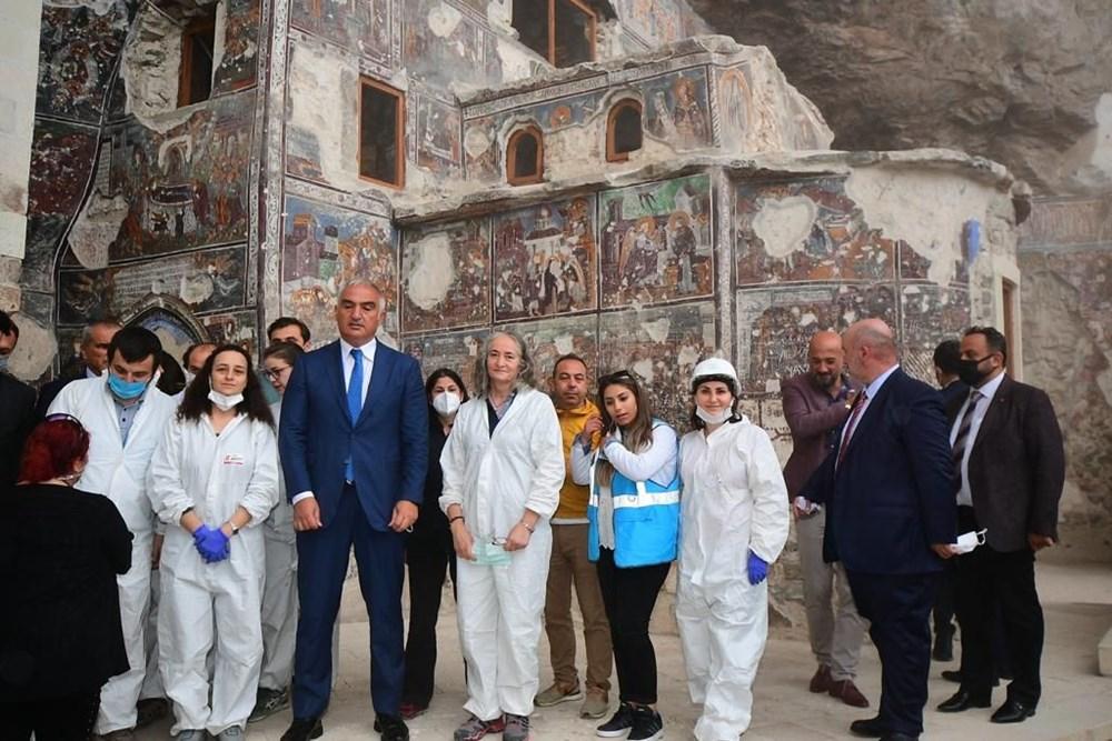 Sümela Manastırı 5 yıl sonra ziyarete açıldı - 7