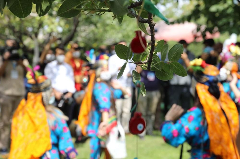 GastroAntep Festivali, fıstık hasadı ve şire yapımı ile başladı - 7