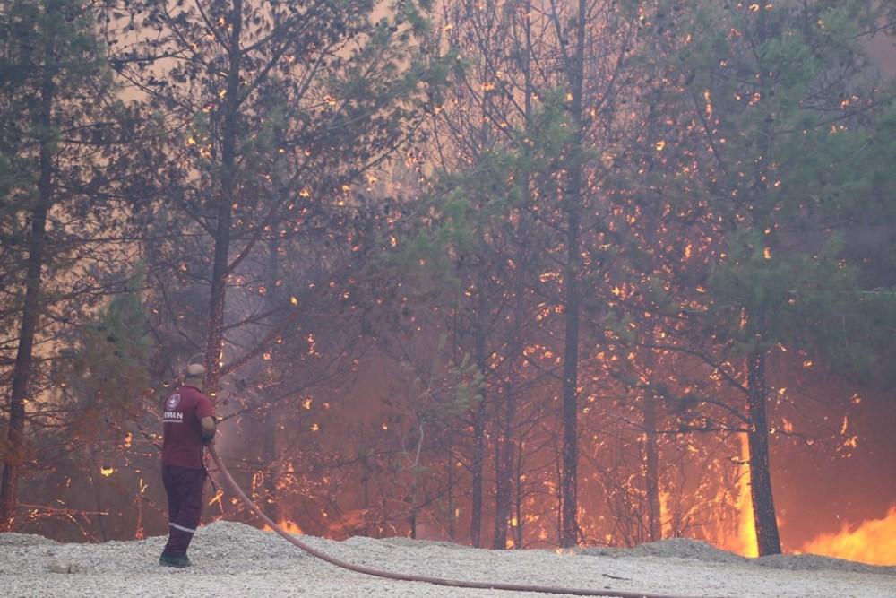 Adana'da orman yangını: 8 köy boşaltıldı - 7