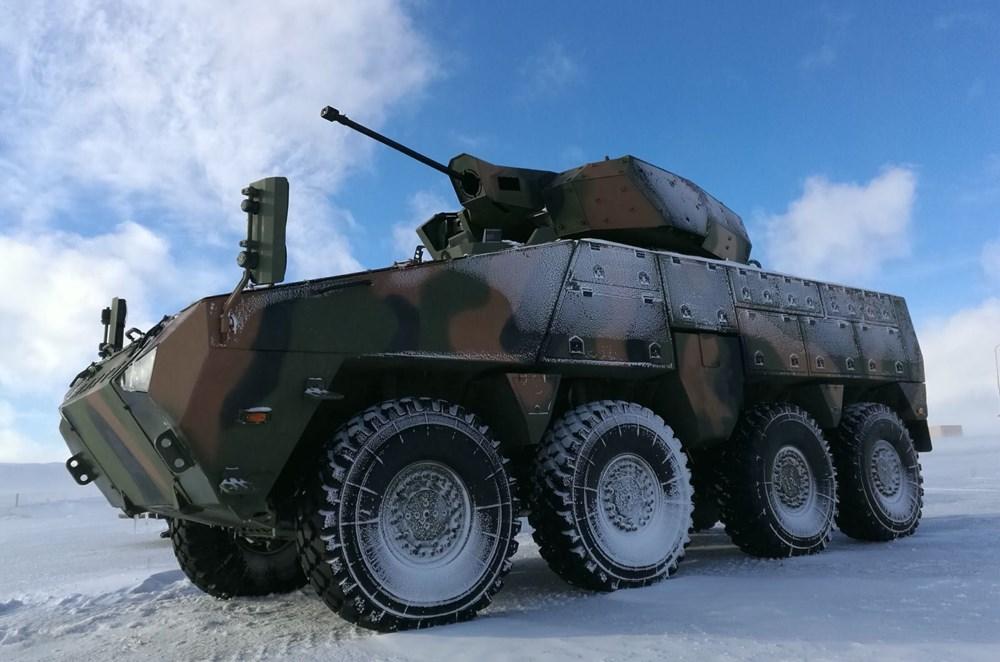 Dijital birliğin robot askeri Barkan göreve hazırlanıyor (Türkiye'nin yeni nesil yerli silahları) - 221