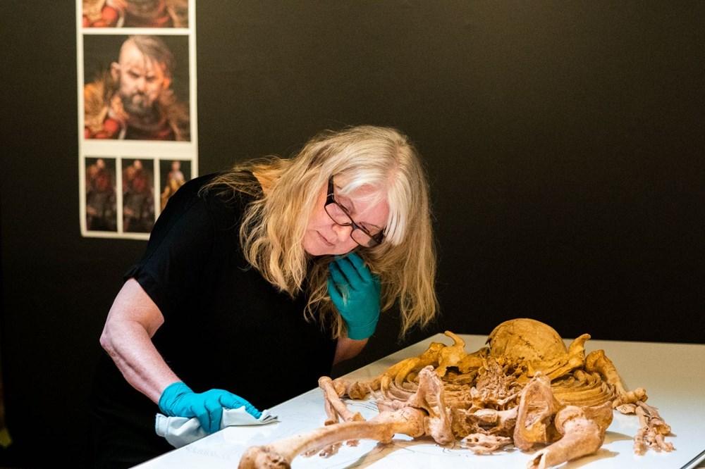 İki Viking savaşçısının kalıntıları Danimarka Ulusal Müzesi'nde - 5