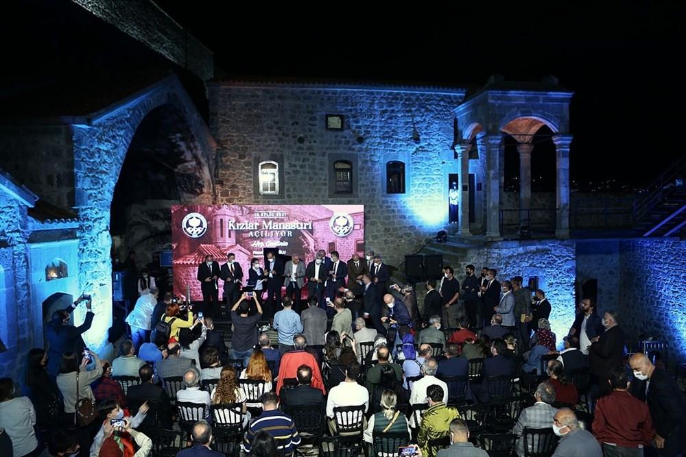 Trabzon'da restorasyonu tamamlanan Kızlar Manastırı ziyarete açıldı - 8