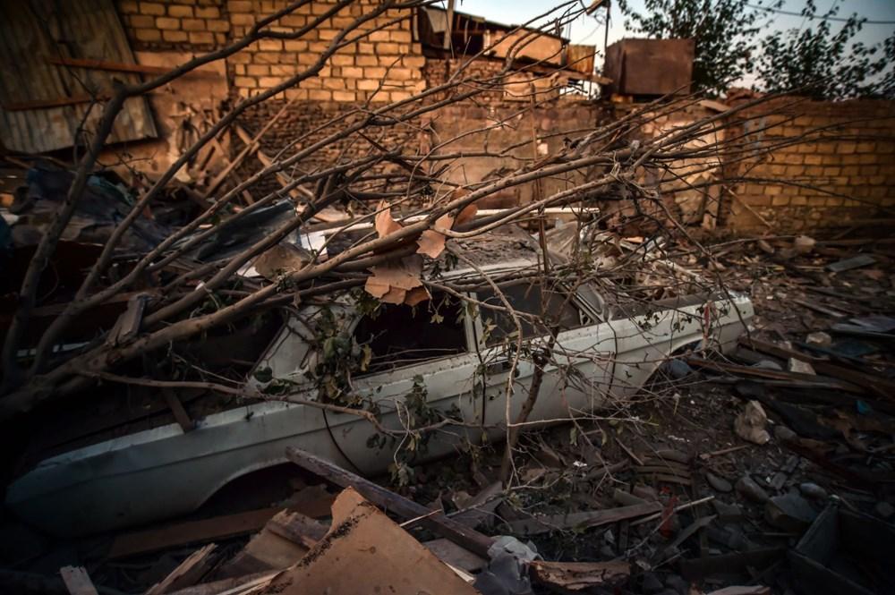 Ermenistan'ın Gence'ye füze saldırısının şiddeti gün ağarınca ortaya çıktı - 19
