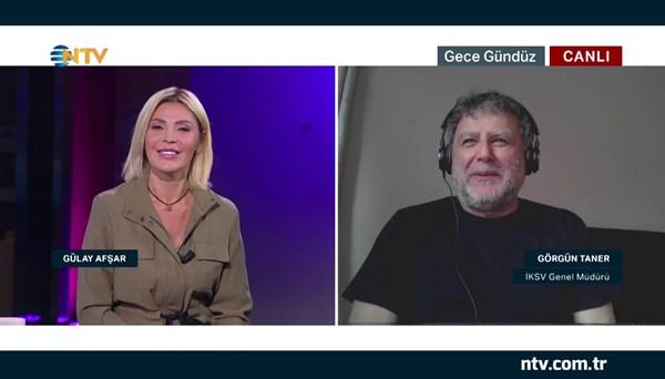 İKSV Genel Müdürü Görgün Taner NTV'de (Gece Gündüz 14 Nisan 2020)