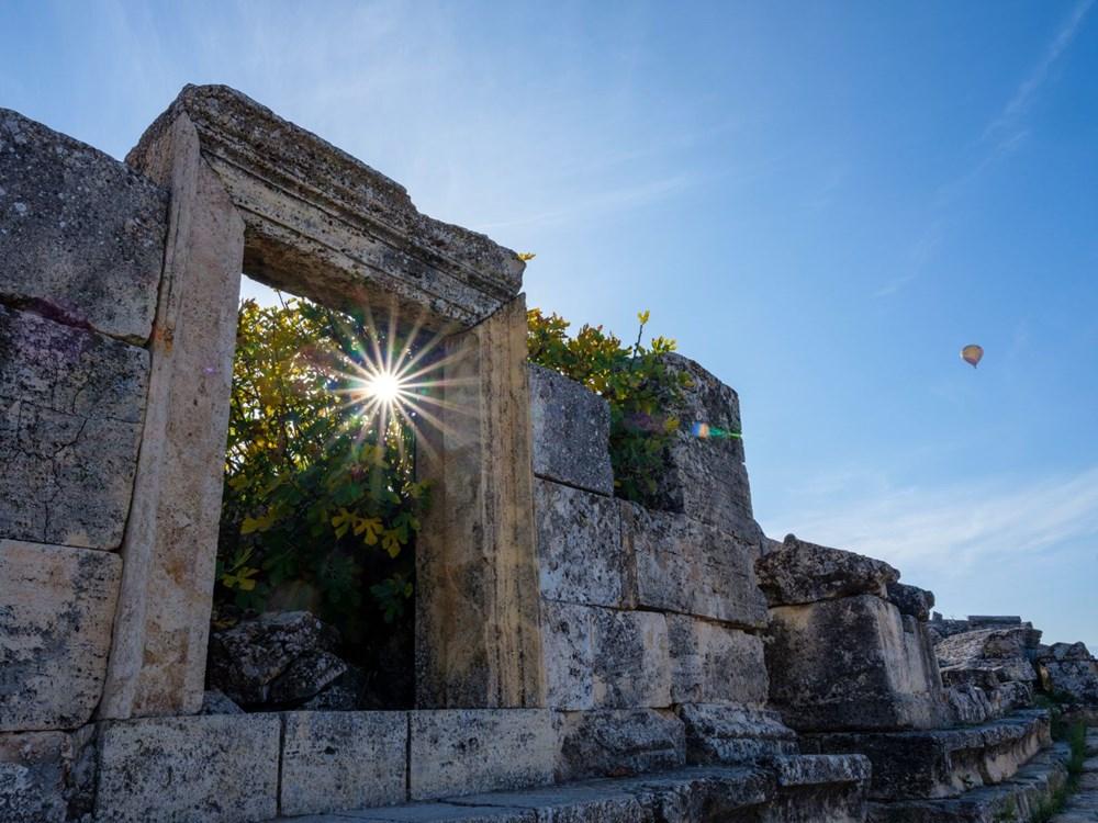 Türkiye'nin 'cehenneme' açılan  kapısının binlerce yıllık sırrı keşfedildi - 14