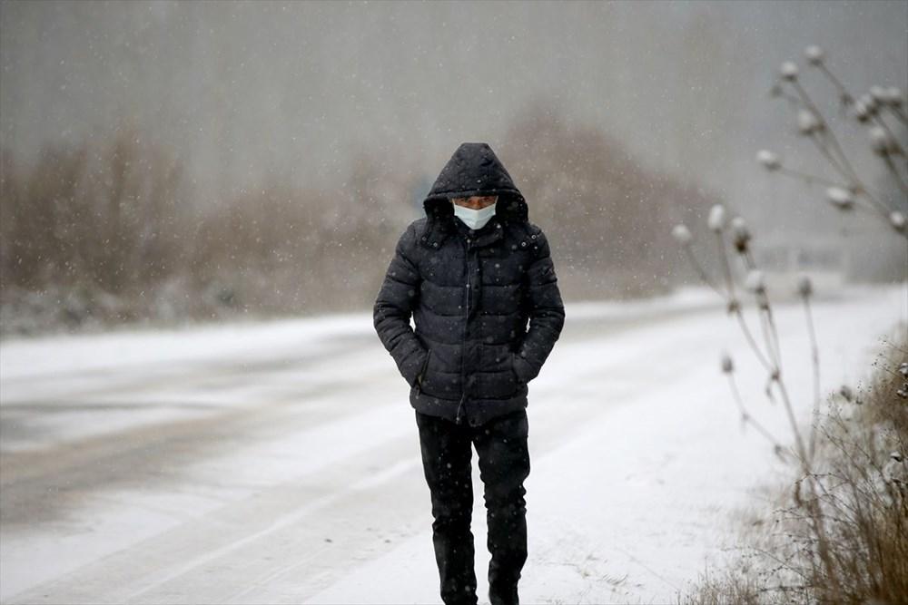 Yurtta kar yağışı (İzmir'in yüksek kesimlerinde kar yağışı etkili oluyor) - 9