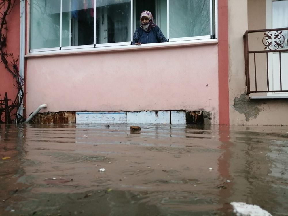 Edirne'de sağanak: Cadde ve sokaklar göle döndü - 2