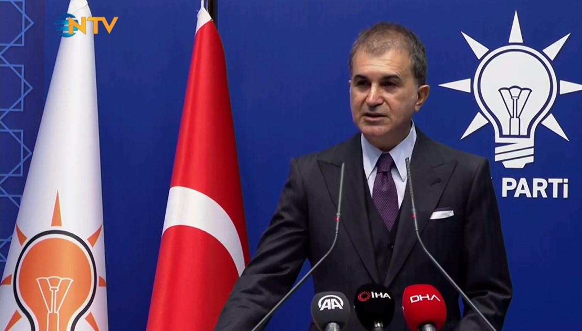 AK Parti Sözcüsü Çelik'ten HDP'ye yeniden kapatma davası açılmasına ilişkin açıklama