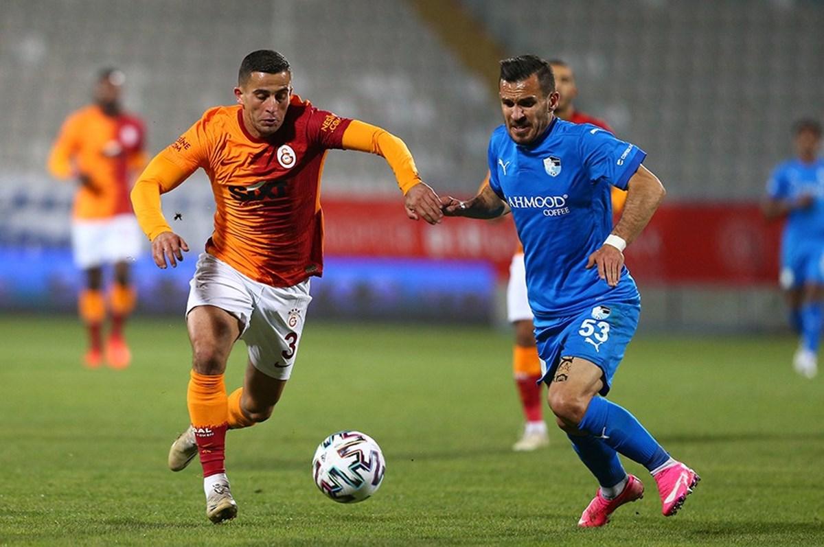 Elinde havai fişek patlayan Galatasaraylı futbolcu Omar Elabdellaoui, hastaneye kaldırıldı