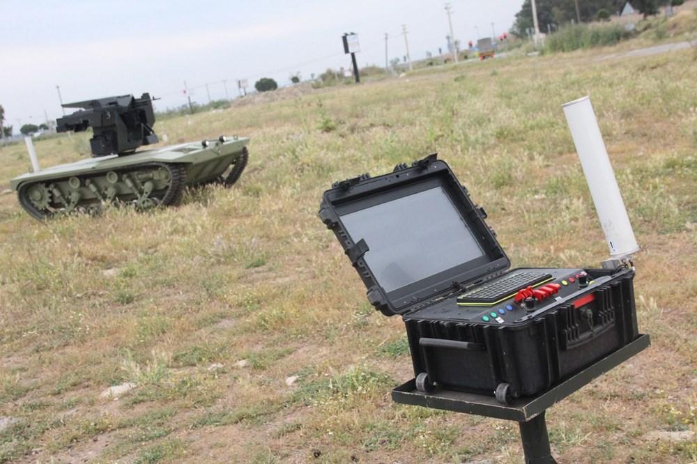 Dijital birliğin robot askeri Barkan göreve hazırlanıyor (Türkiye'nin yeni nesil yerli silahları) - 81